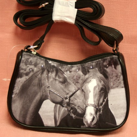 Mini sac à mains cheval