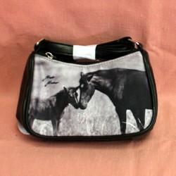 Mini sac cheval et  poulain