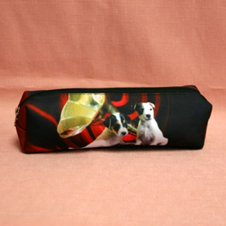 Trousse motif jack russell