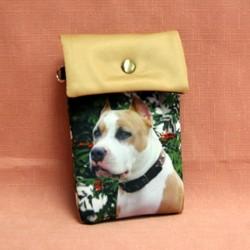 Pochette de téléphone american stafforshire terrier