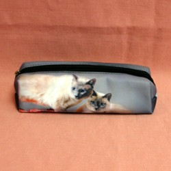 Trousse chat siamois